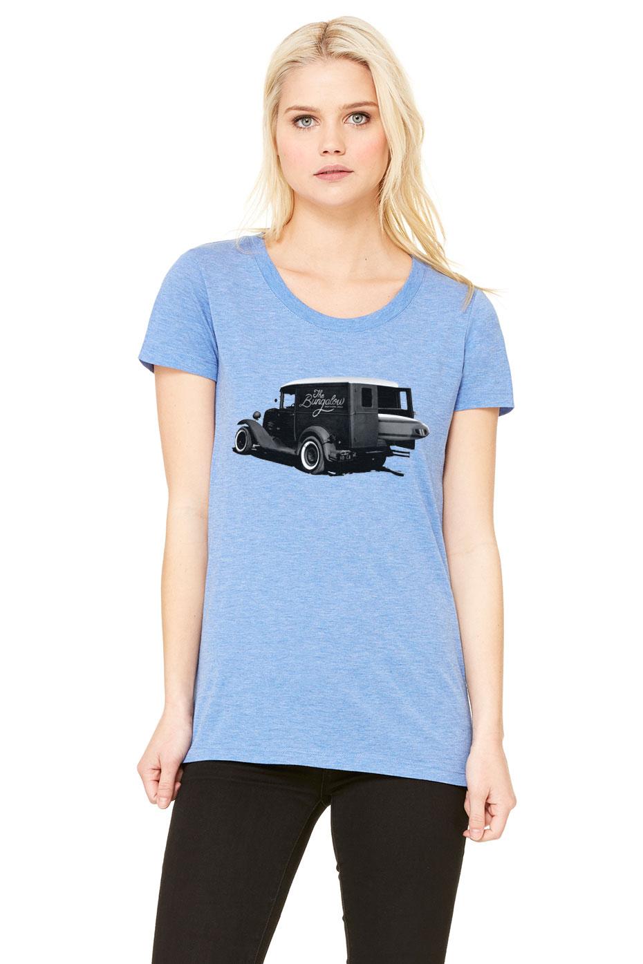 BEACH CAR BLUE TRIBLEND