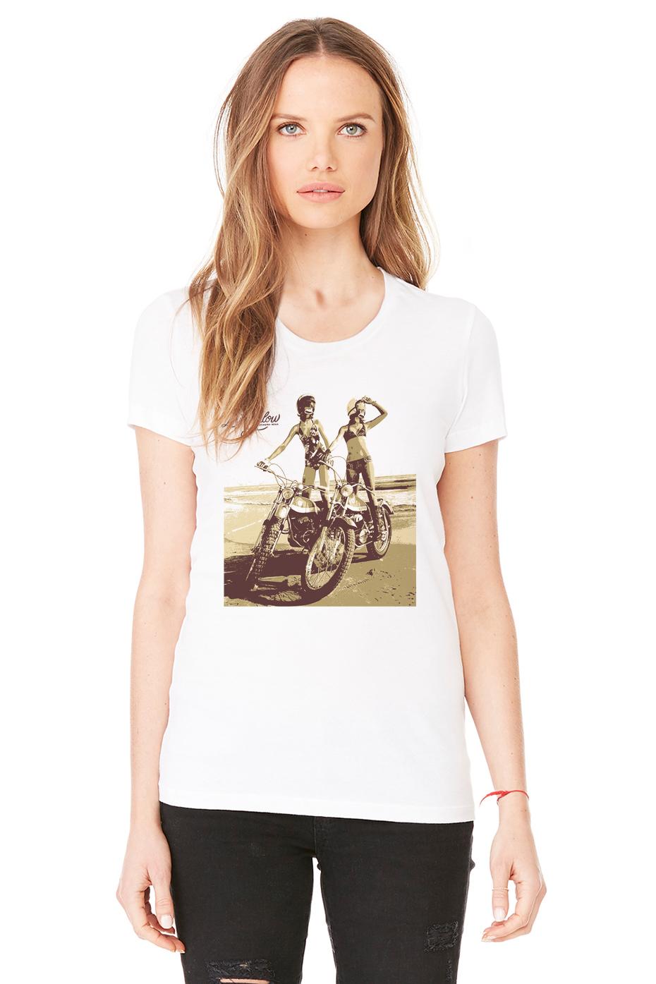 MOTO GIRLS WHITE