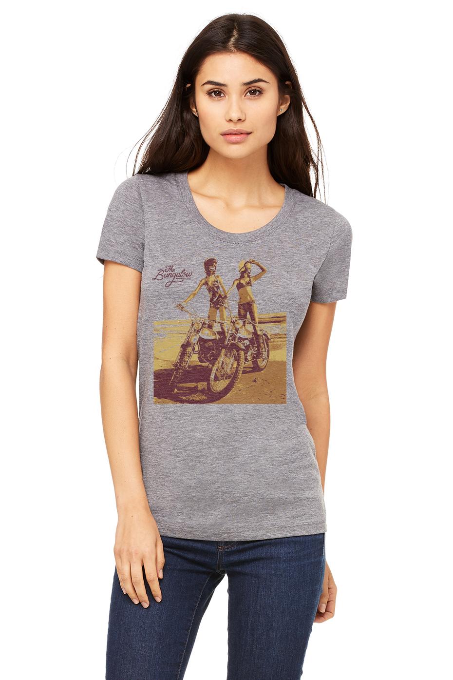 MOTO GIRLS HEATHER GREY