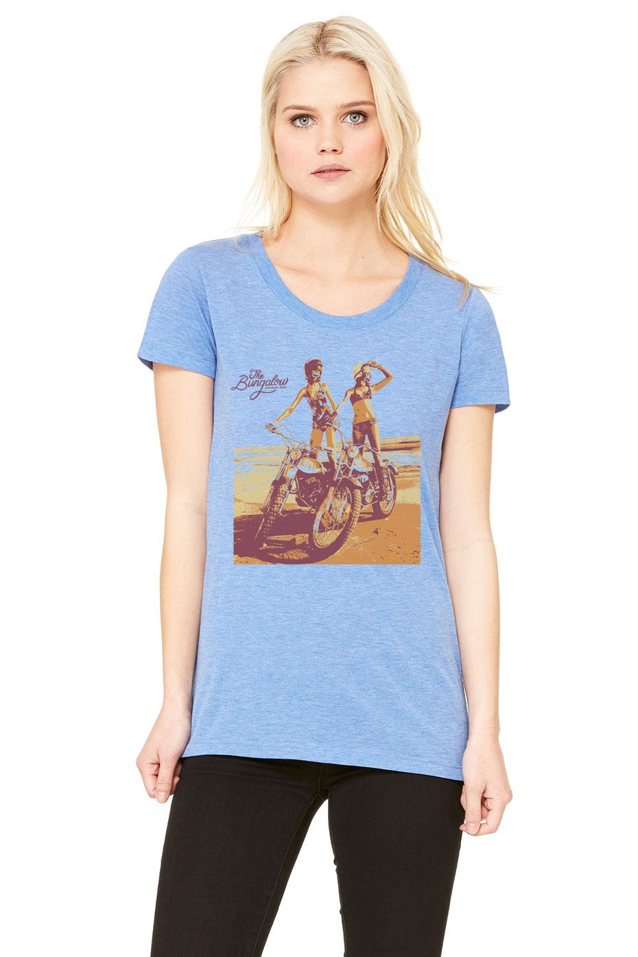 MOTO GIRLS BLUE TRIBLEND