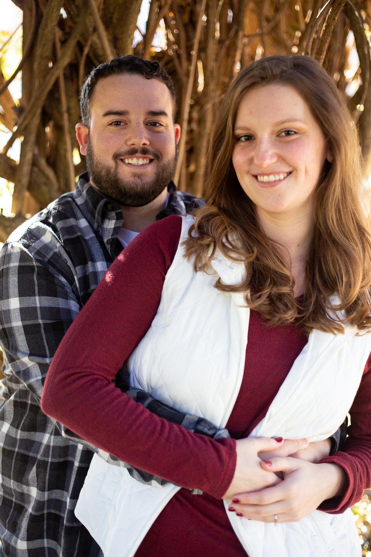 Fall-Vines-gaze-love-couple-shoot-photography-blacksburg-roanoke-love-lover-loving-engaged-wedding-Virginia-Tech-campus