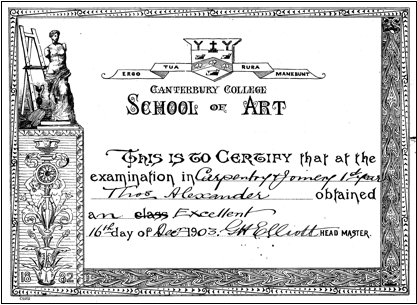 Certificate of Carpentry and Joinery