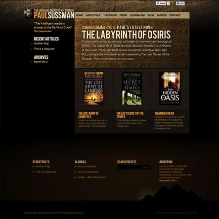 Paul Sussman Website