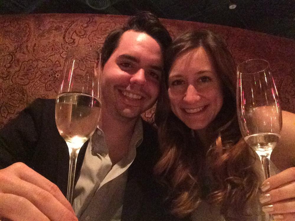Husband & wife forever. Celebrations forever. Prosecco forever.