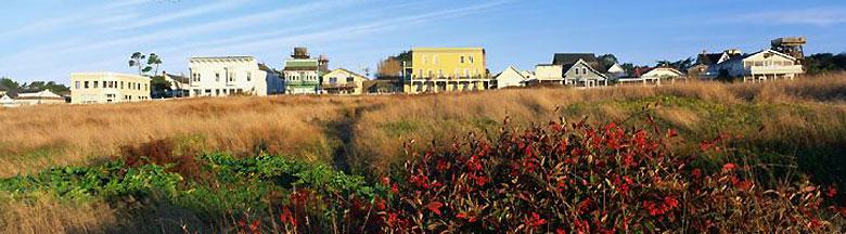 the mendocino village, two miles north