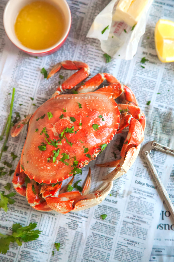 local mendocino dungeness crab