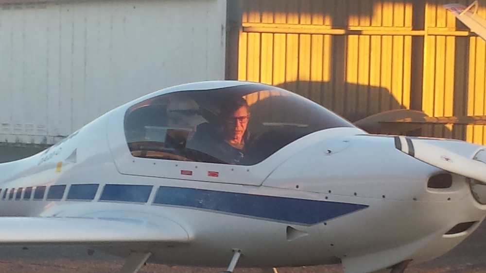 Mike's first lesson in Charlie Tango