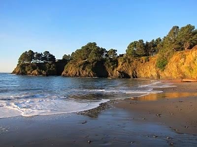 a short walk to van damme beach