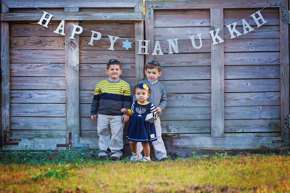 Tampa Hanukkah photographer