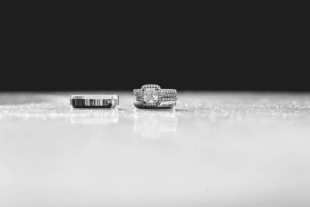 Tampa  St Pete Wedding Rings Photography