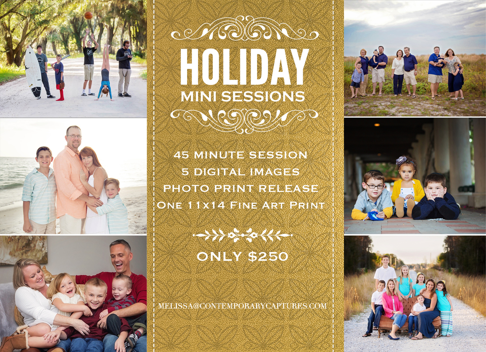 tampa christmas photo sessions