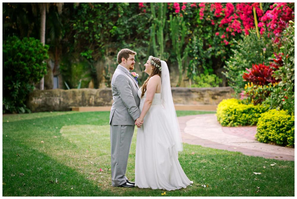St Pete Garden Wedding
