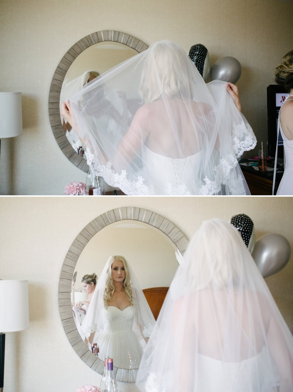 Tampa Marriott waterside getting ready bride