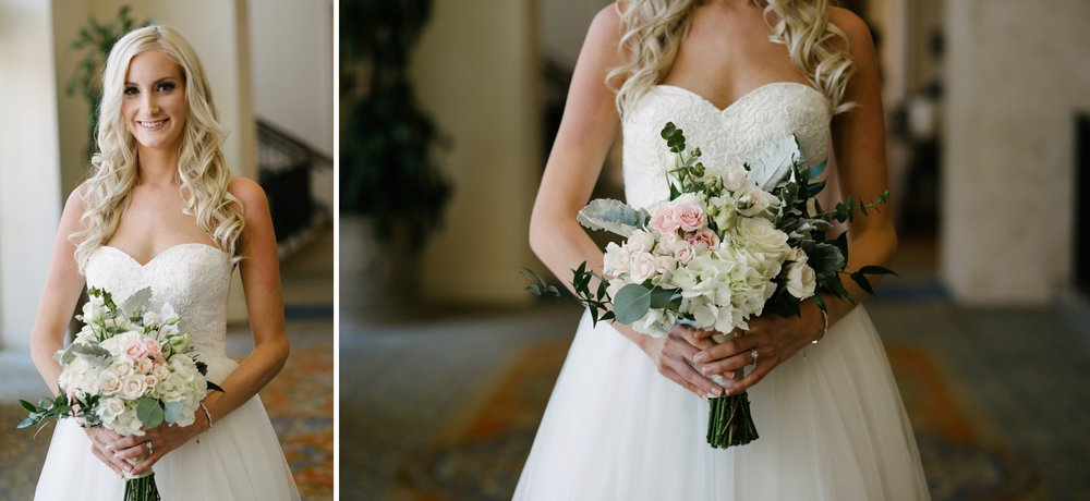 Marriott Harbor Tampa Wedding Bride Bouquet