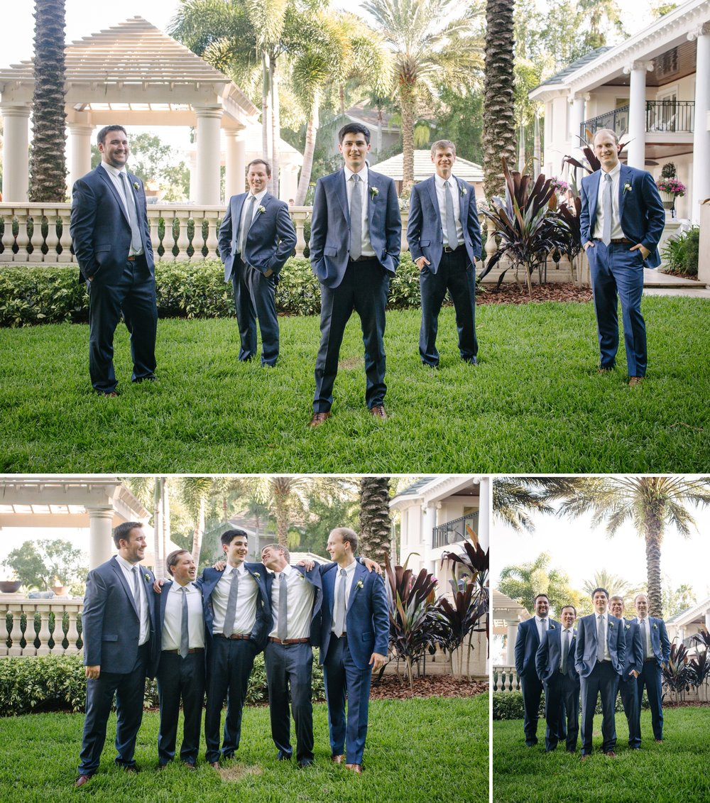 Linebaugh Avenue Backyard Wedding Bridsmaids Groomsmen Tampa