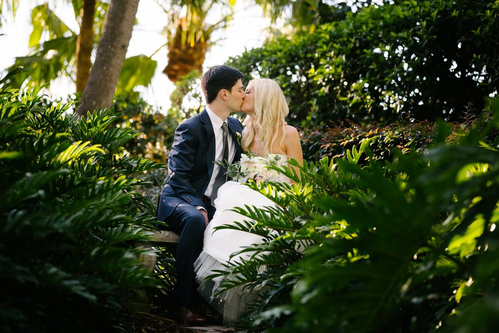 Linebaugh Avenue Backyard Wedding Portraits Tampa