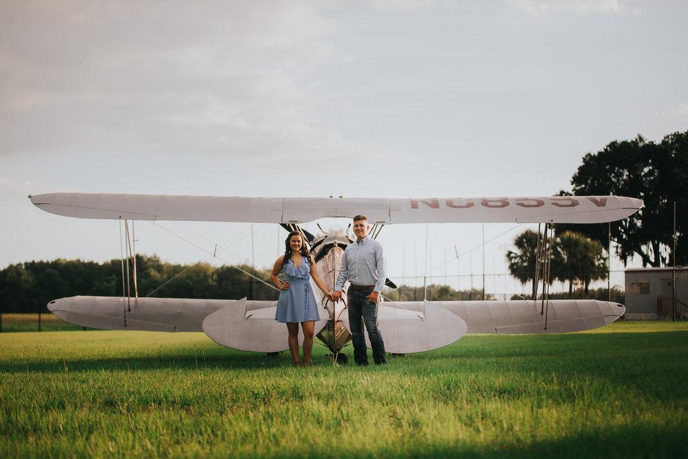 Tampa Engagement wedding photographer photography plane wedding-11.jpg