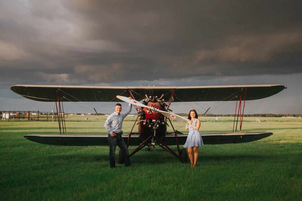 Tampa Engagement wedding photographer photography plane wedding-13.jpg