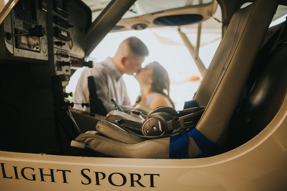 Tampa Engagement wedding photographer photography plane wedding-14.jpg