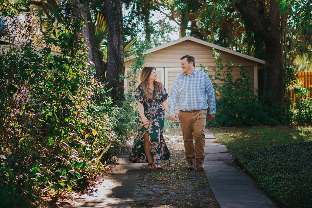 South Tampa Engagement Romantic Photographer Photos