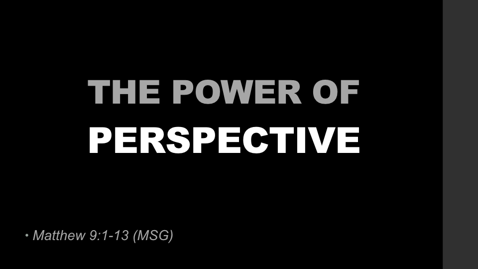 the power of perspective Social network theory is a strong perspective for understanding the power of human relatedness and the advantages and opportunities made possible by a person's position.