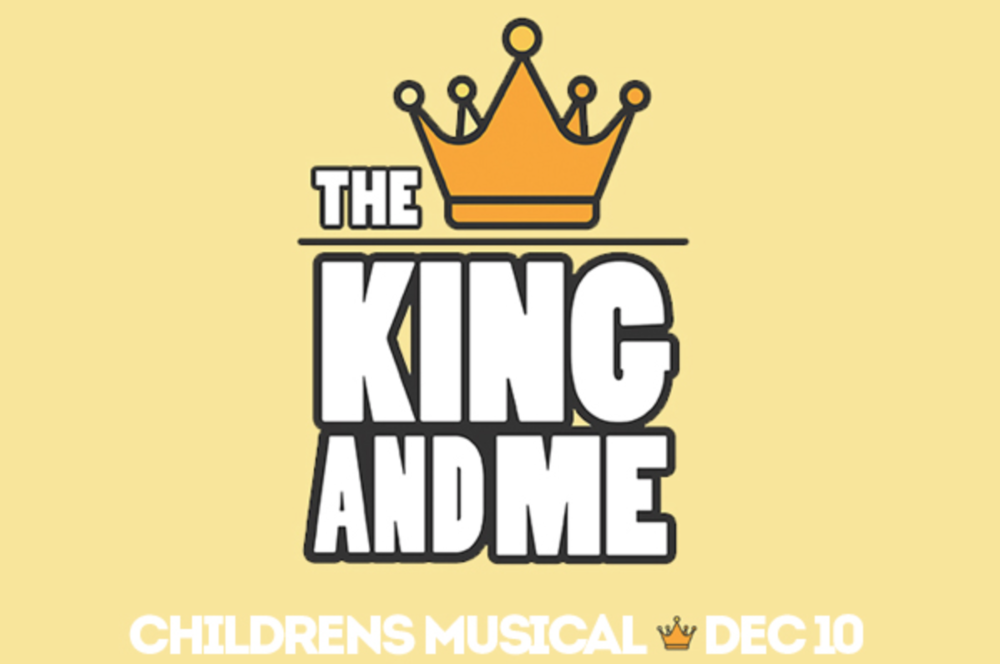 The King And Me Childrens Christmas Musical Faith Community