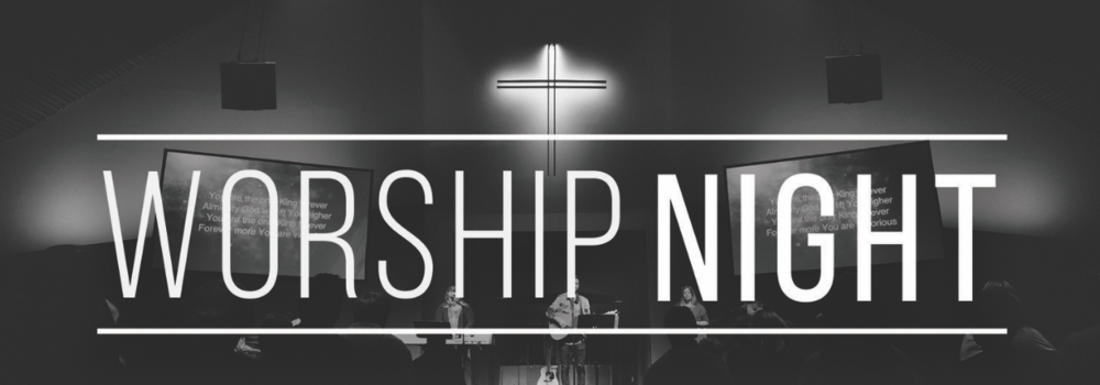 We are setting aside a night to worship and pray together as a community.  Join us TONIGHt at 5pm in the Worship Center.