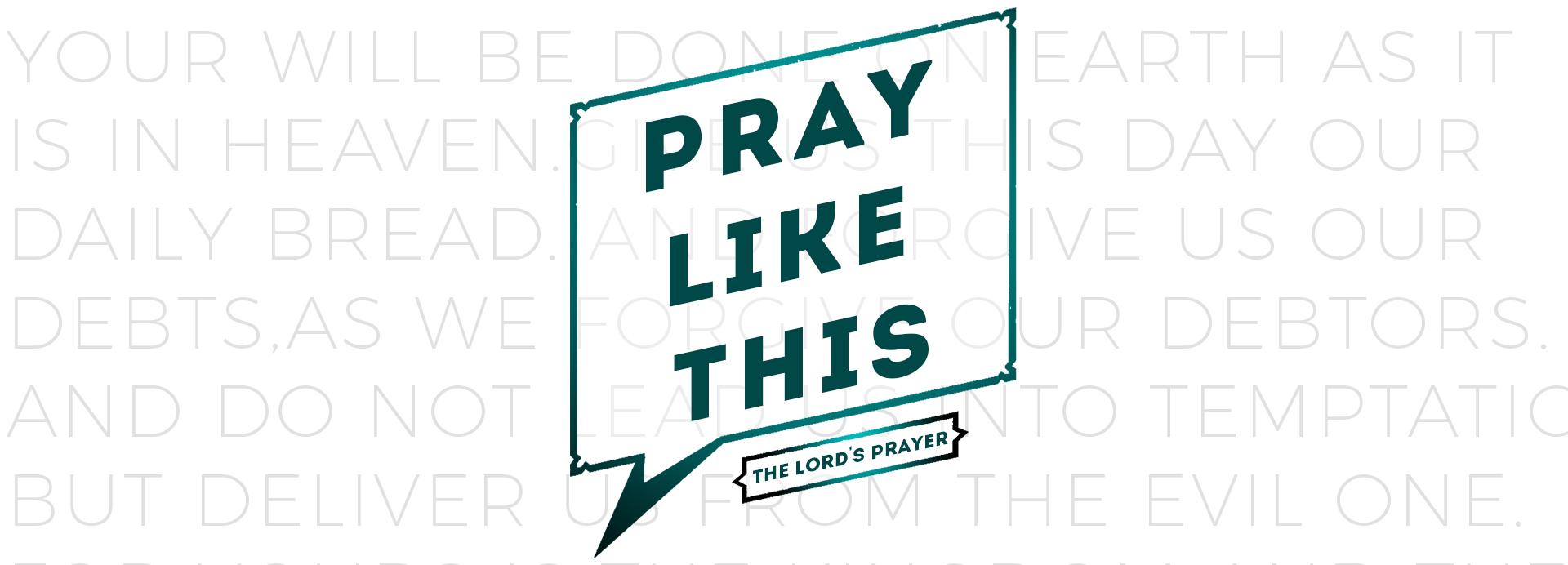 Pray Like This: Prayer Stations [Family Sunday] — Faith