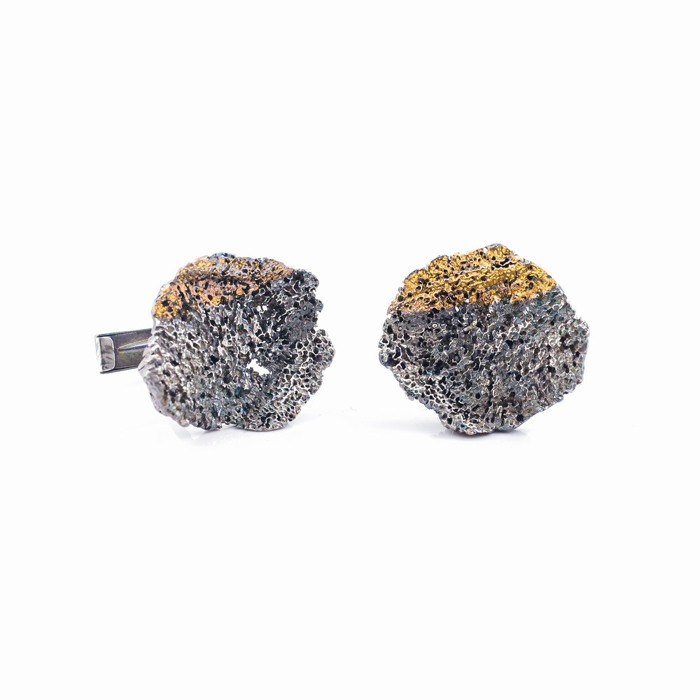 Graceful Inner Island Cufflinks | Sterling silver.