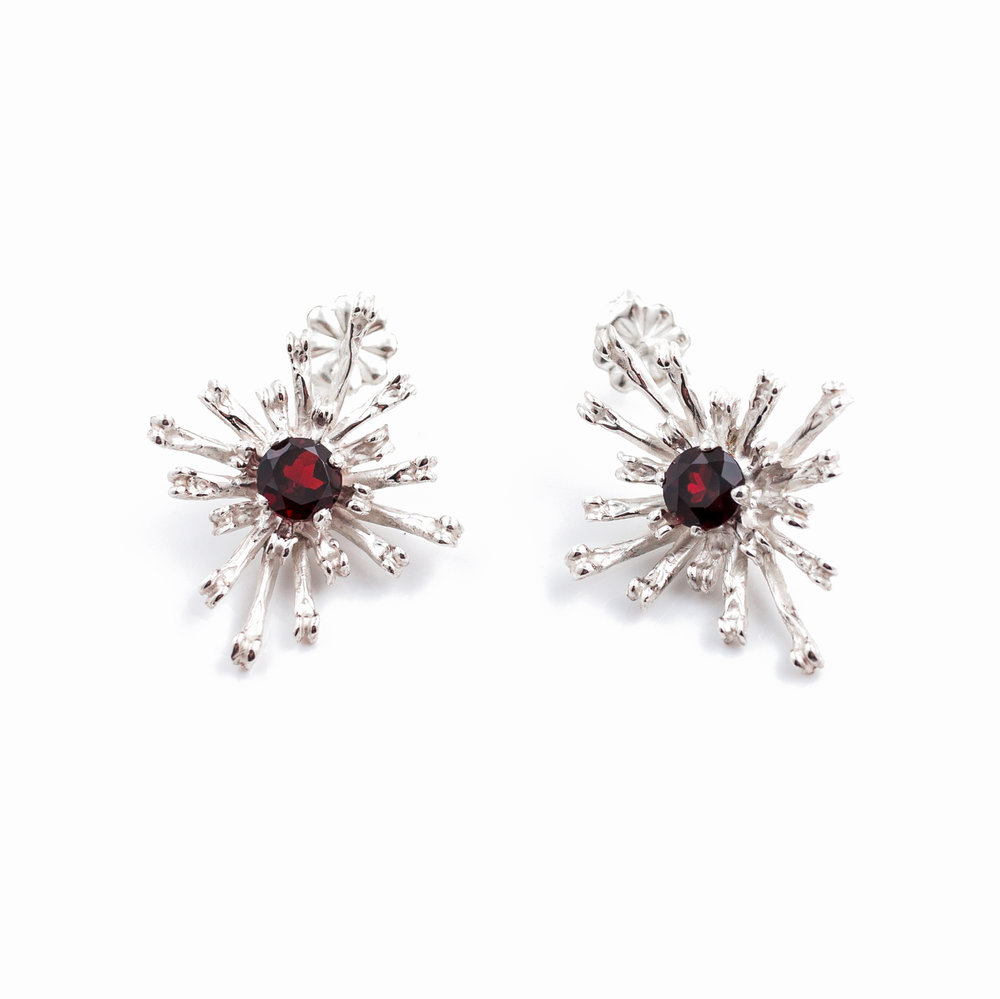 The Flowers Remaining Earrings Garnet.jpg