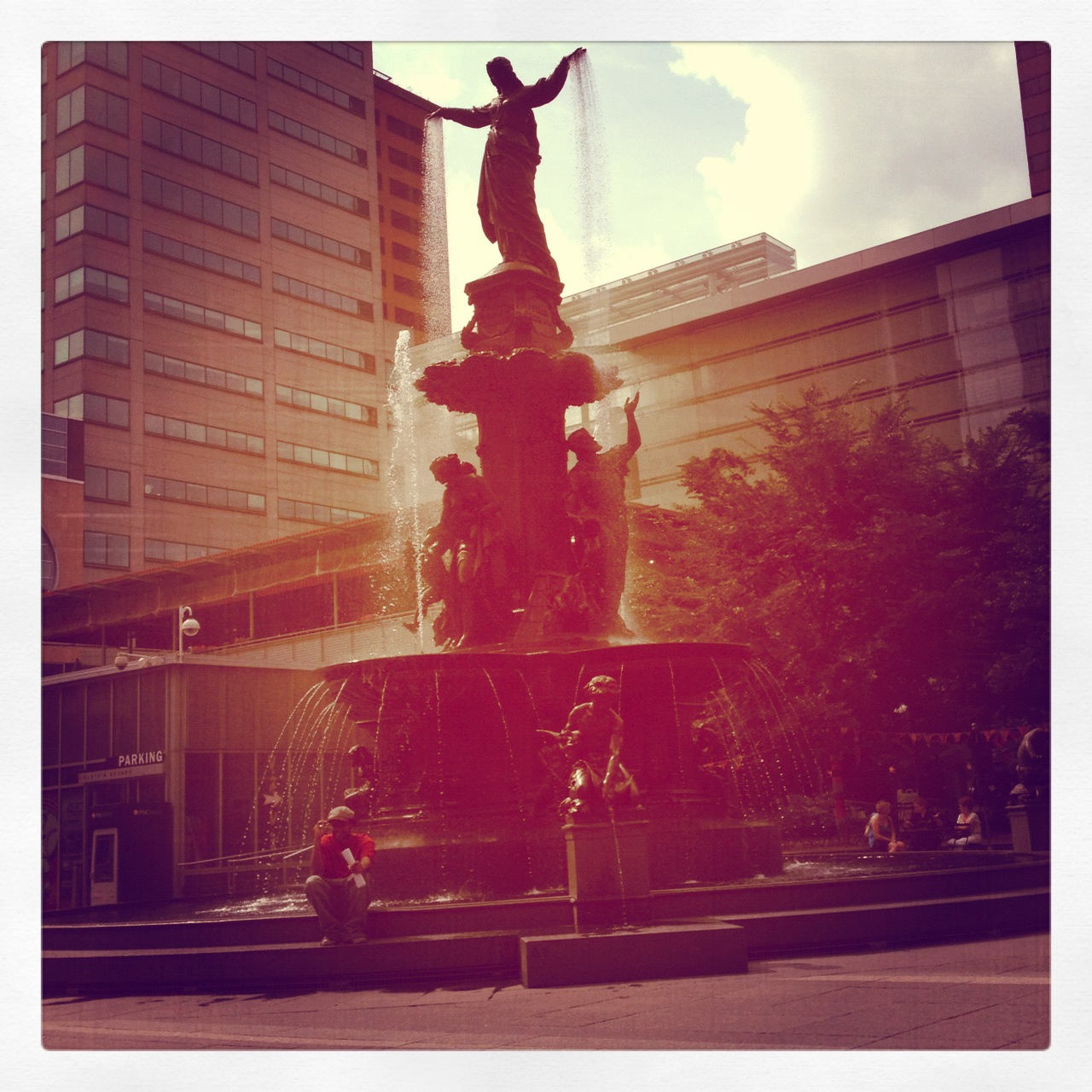 Picture I took while hanging out in the city…I love my wonderful Cincinnati!