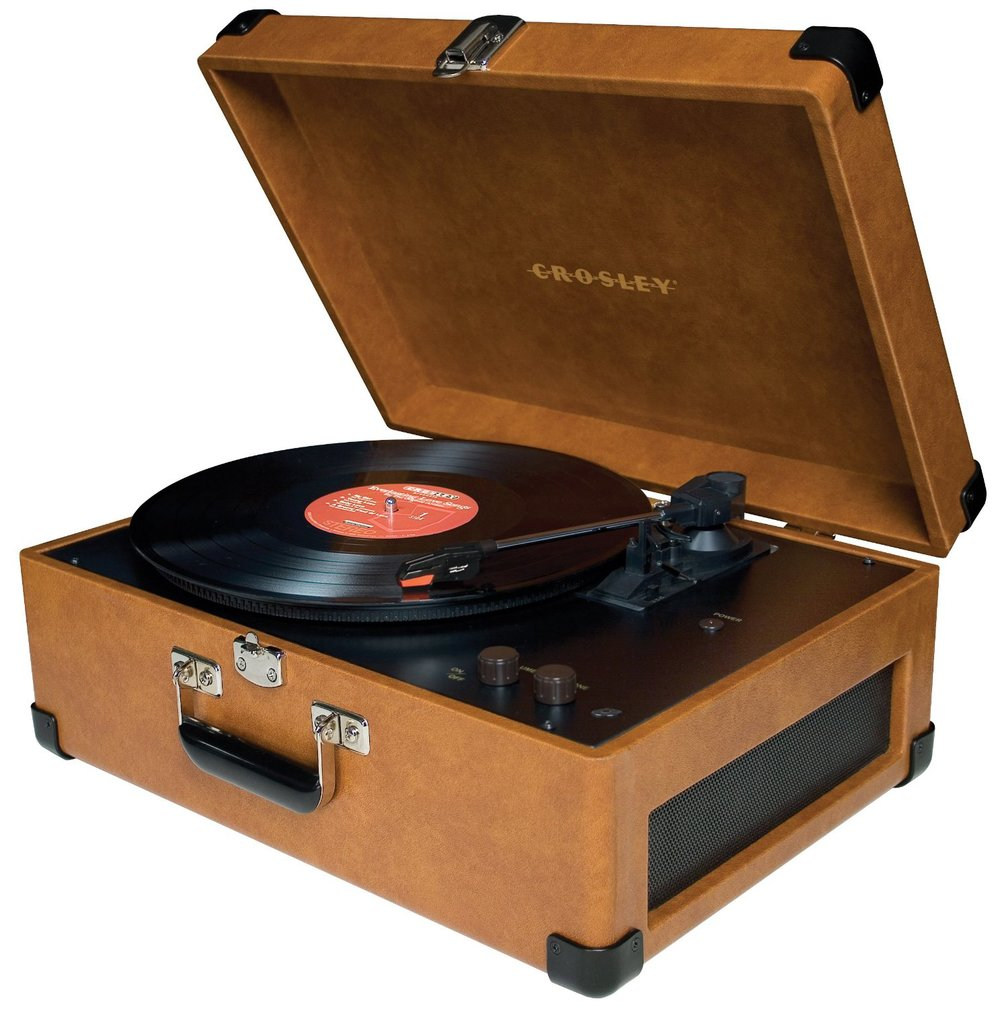 Crosley CR6249A-TA Keepsake Portable USB Turntable