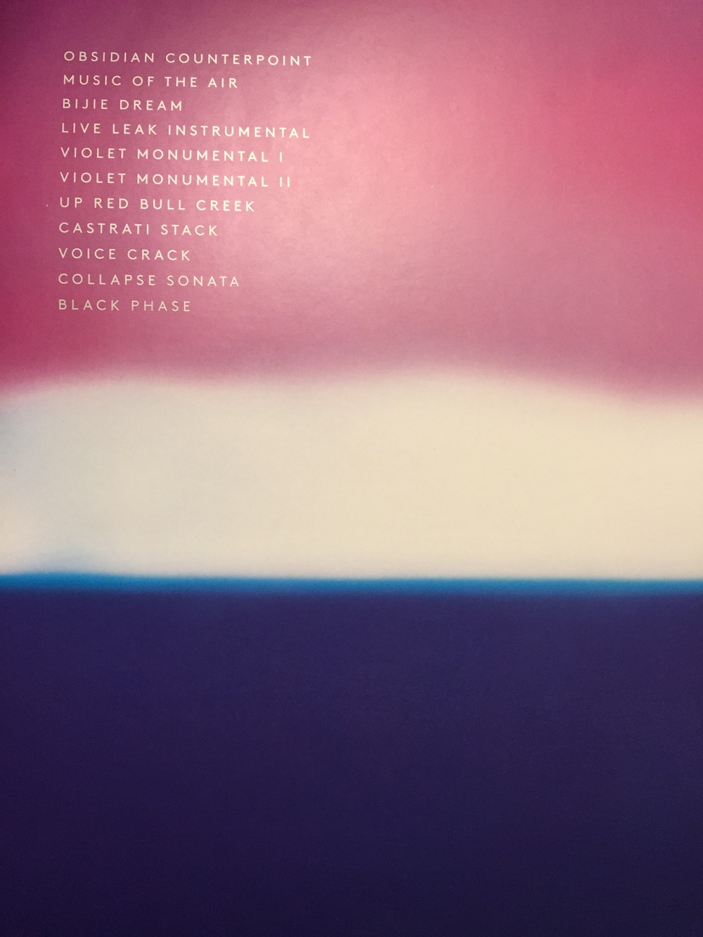 Hecker, Love Streams (back cover)