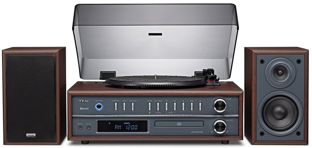 Teac LP-P1000-CH All-In-One Turntable Speaker System with Bluetooth