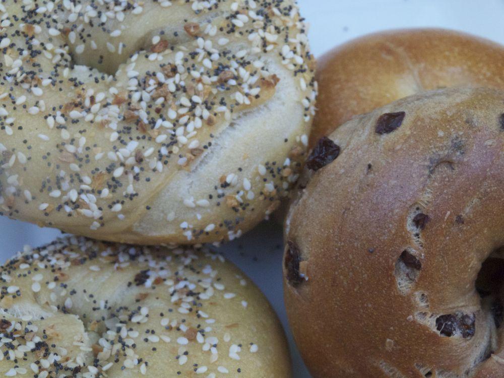 Bagels para desayunar
