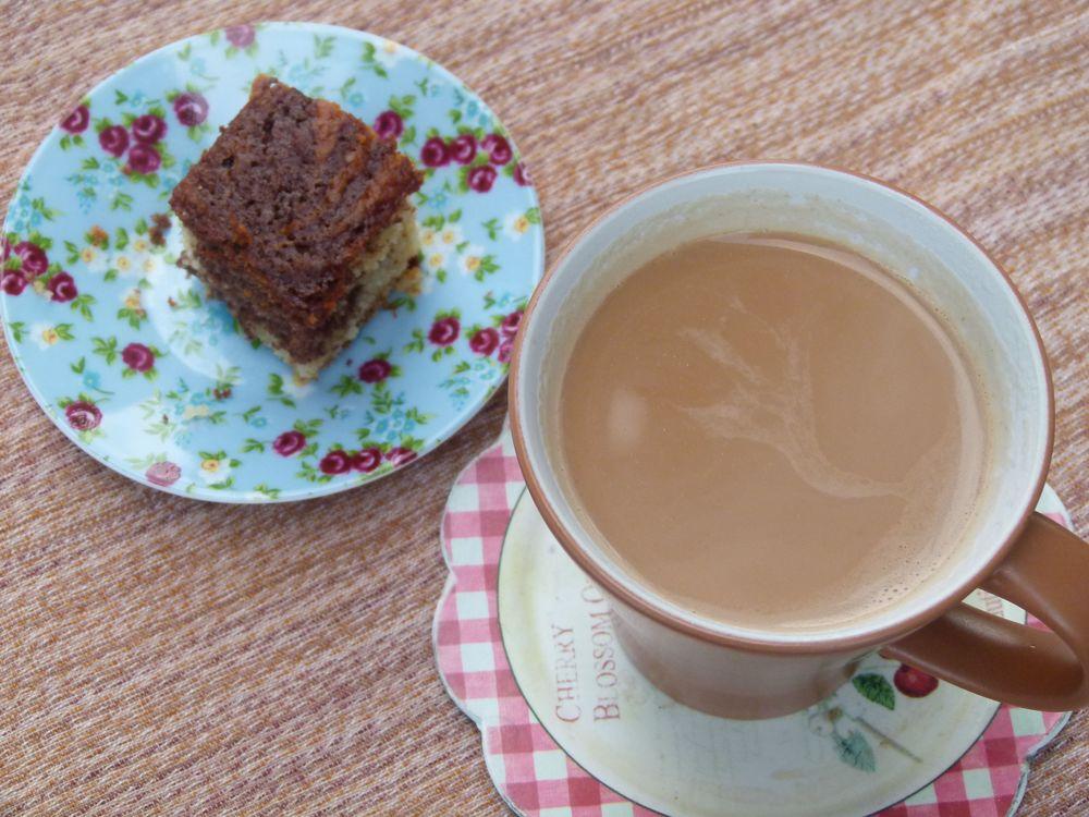 Tarde de otoño, té de jengibre con hinojo