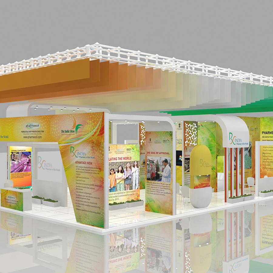 Brand India Pharma at CPhI Worldwide, Madrid , Spain, Oct 2012