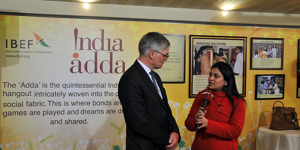 India Adda at the Annual Meeting of the World Economic Forum, Davos 2013