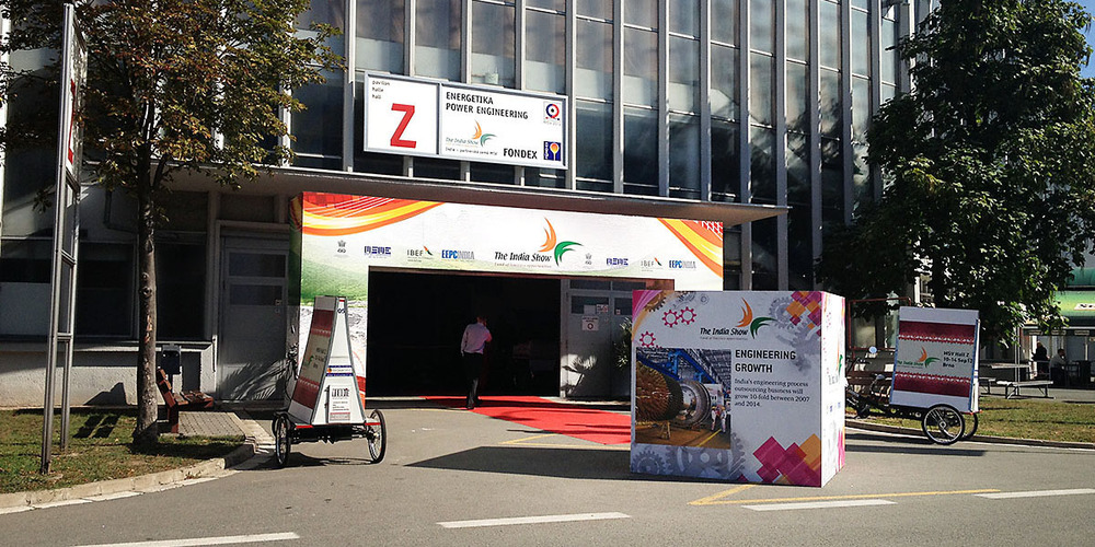 The India Show at MSV International Fair    Brno,Czech Republic, Sept 2012