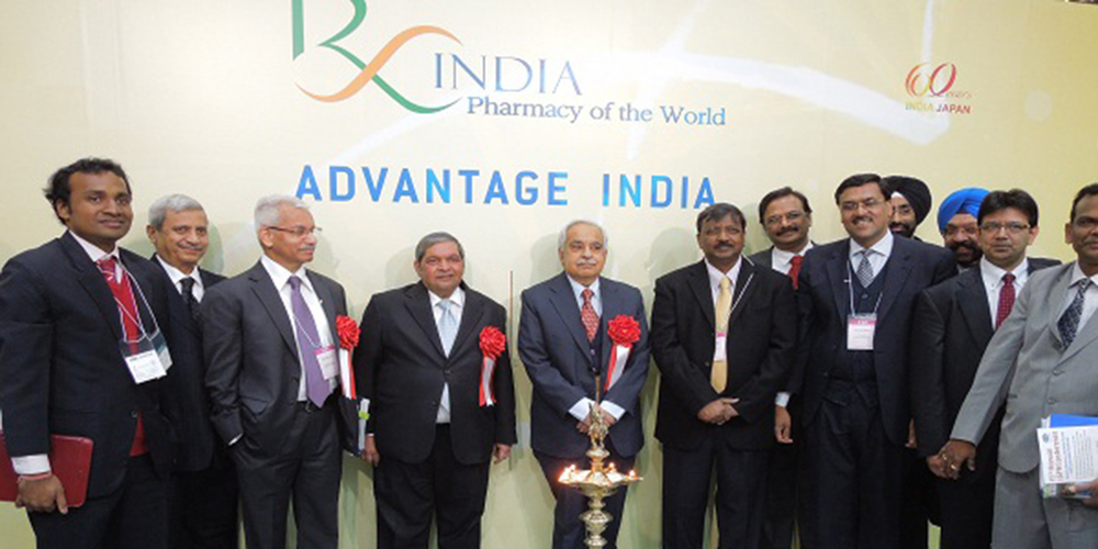 G  lobal launch of Brand India Pharma    campaign, CPhI,   Tokyo, March 2012
