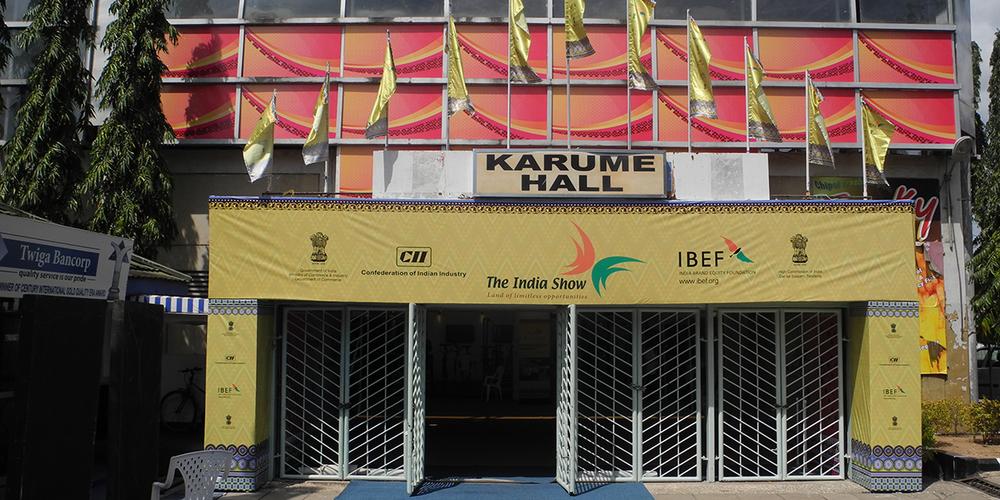 The India Show    Tanzania, sept 2013