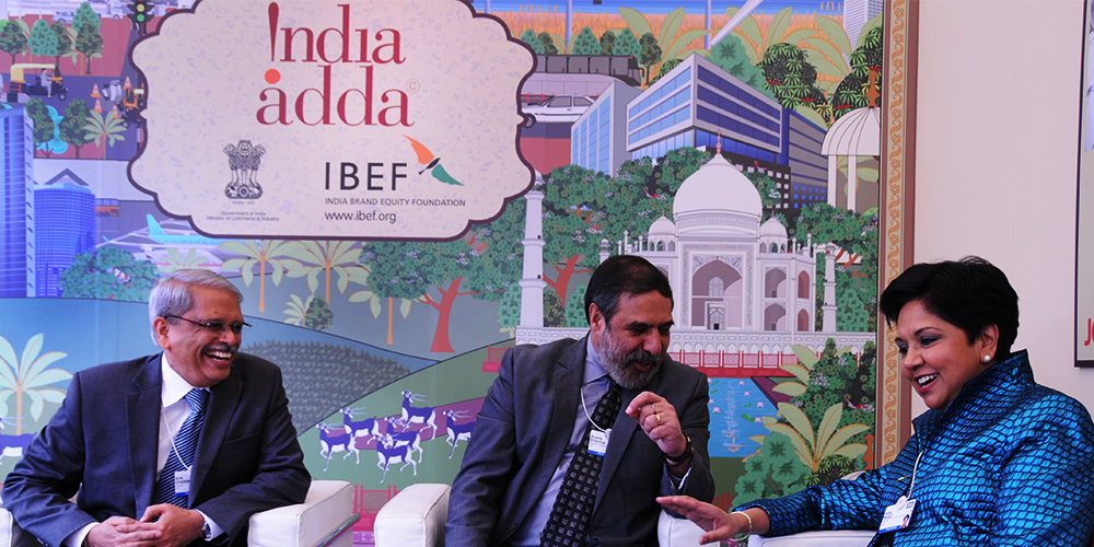 India Adda at the Annual Meeting of the World Economic Forum, Davos 2014