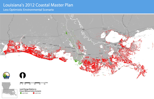 Could blue carbon save the Louisiana coast? Source: Ecosystem Marketplace