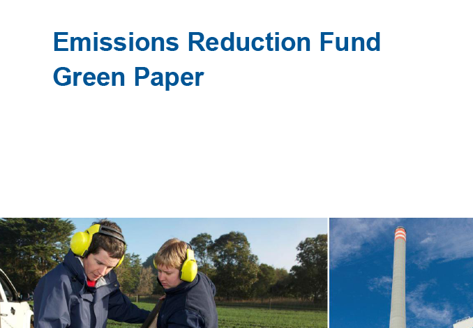 The Australian Government's Emission Reduction Fund Green Paper