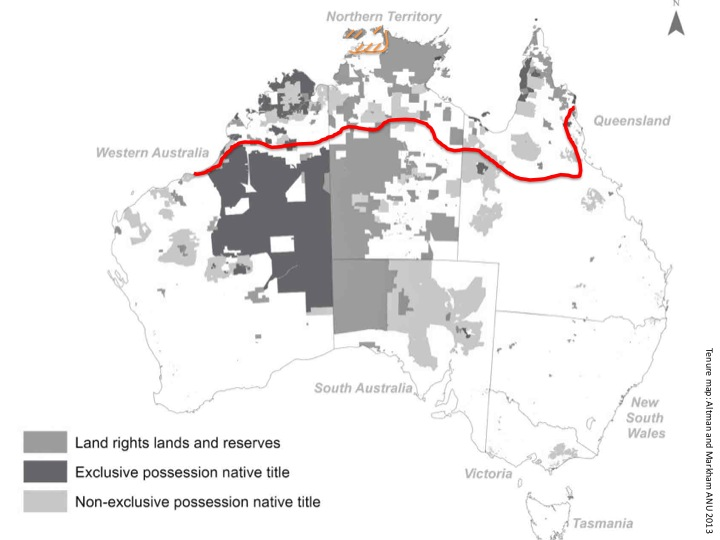 Range of the proposed savanna enrichment methodology in northern Australia