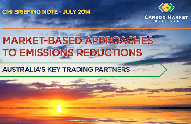 CMI report on climate action by Australia's trading partners