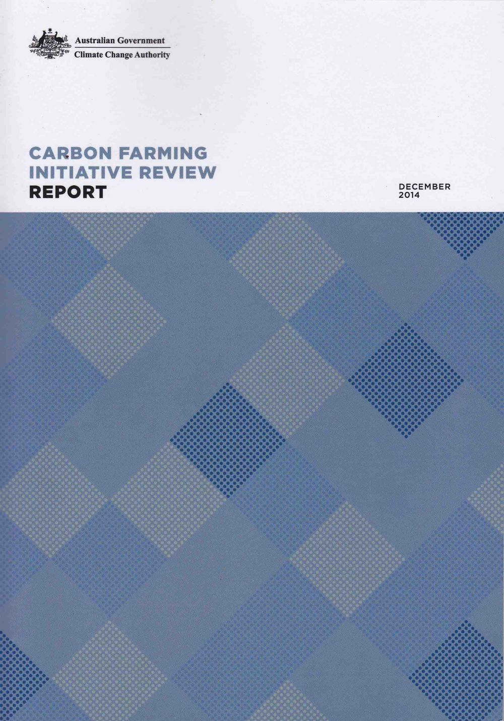 Read on for the Climate Change Authority's CFI Review...