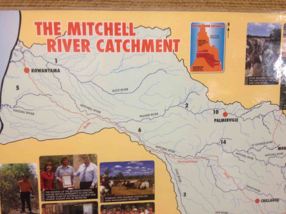 The Mitchell River catchment embraces the Oriners and Sefton project area