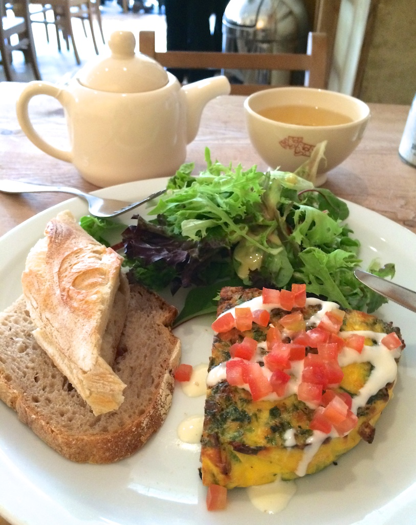 Lunch from Le Pain Quotidian