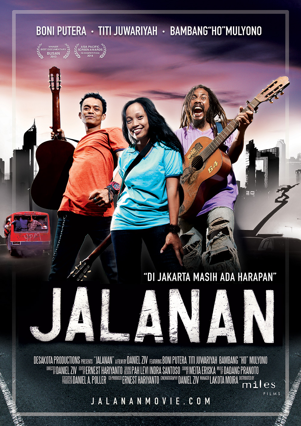 JALANAN official cinema poster